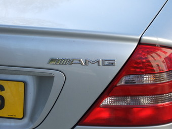 Mercedes CL55 AMG.
