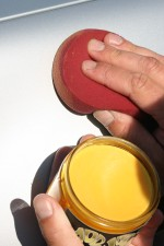 A durable wax is used to protect the paint work.